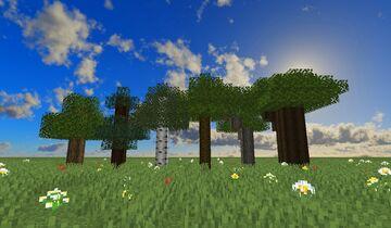 Better Logs & Planks (1.8.9) Minecraft Texture Pack