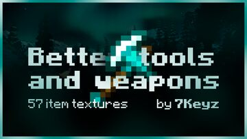 Better tools and weapons Minecraft Texture Pack