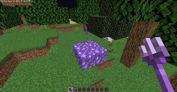 amethyst trident Minecraft Texture Pack