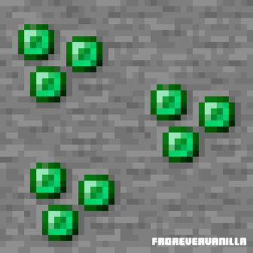 Better Emerald (ForeverVanilla) Minecraft Texture Pack