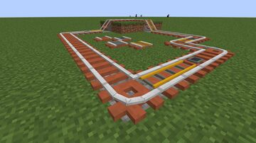 Stripped Acacia Log Rails! (1.17 but will most likely work from 1.15 onwards) Minecraft Texture Pack