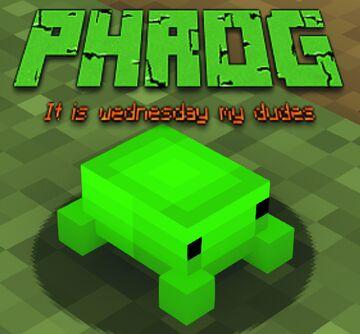 Phrog Minecraft Texture Pack