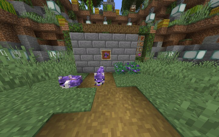 Also changes sweet berries and sweet berry bushes