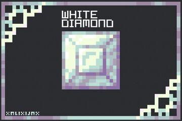 White Diamond Minecraft Texture Pack