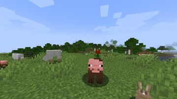 Minecraft Earth Muddy Pigs (Flower included) Minecraft Texture Pack