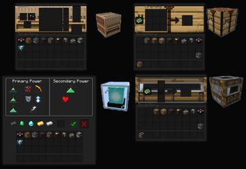 Dark Gui Minecraft Texture Pack