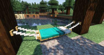 Beds to Hammocks !! Minecraft Texture Pack