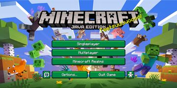 Minecraft Launcher-Style Menu Minecraft Texture Pack