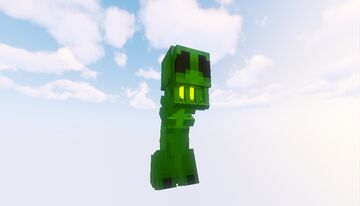 ReImagined Creeper by Snachmee Minecraft Texture Pack