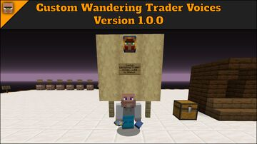 Custom Wandering Trader Voices Minecraft Texture Pack