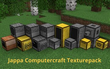 Computercraft in Jappa's Style Minecraft Texture Pack