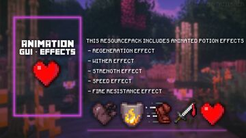 Animated effects Minecraft Texture Pack