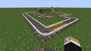 Acacia Log Rails! (1.17 but will most likely work from 1.15 onwards) Minecraft Texture Pack