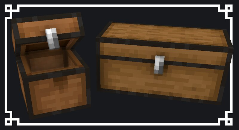 Reimagined 3D chests!