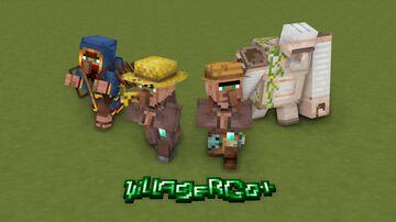 Villager Go+ | Better Villagers v0.1 Minecraft Texture Pack