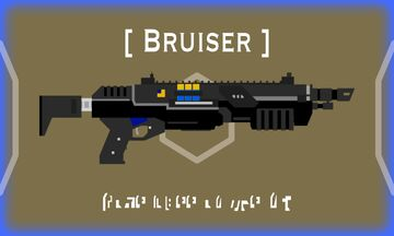 Pump Action Shotgun: Bruiser (With reload animation and audio) Minecraft Texture Pack