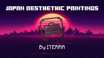 Japan Aesthetic paintings Minecraft Texture Pack