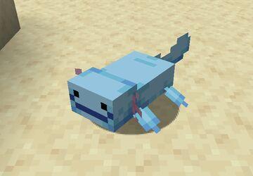 Wooper Axolotls! Minecraft Texture Pack