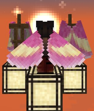 Rosy Maple Moth elytra Minecraft Texture Pack