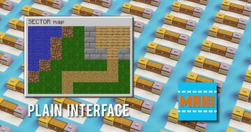 Plain Interface Pack [MAXI] Minecraft Texture Pack