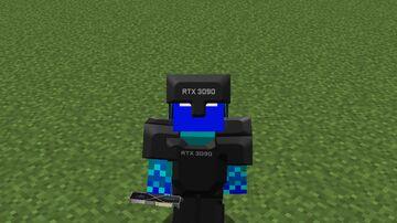 RTX-3090 Netherite Minecraft Texture Pack