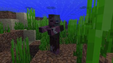Beta Drowned Restored Minecraft Texture Pack