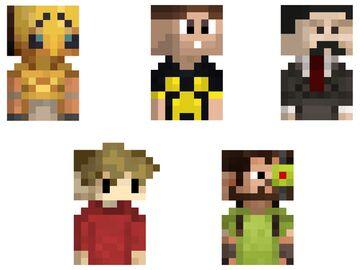 Hermitcraft Totems Minecraft Texture Pack