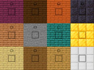Visible Buttons Minecraft Texture Pack