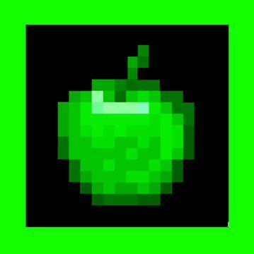 Emerald Apple Minecraft Texture Pack