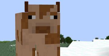 Chocolate milk cows! Minecraft Texture Pack