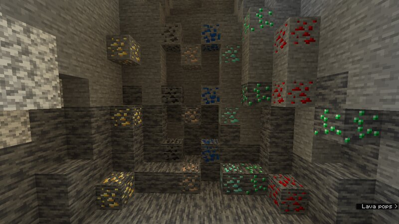 old ores with deepslate