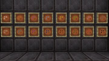 Dye to Color plates Minecraft Texture Pack