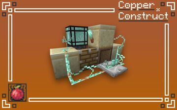 Copper Construct Minecraft Texture Pack