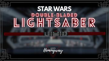 Star Wars: 3D Double-Bladed Lightsaber [1.16+] by Hemingway Minecraft Texture Pack
