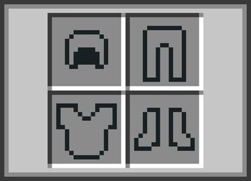 Accurate Armor Slots - Bedrock Minecraft Texture Pack