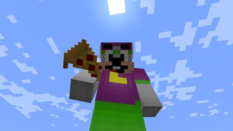 Cooked potato Pizza
