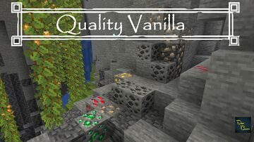 Quality Vanilla: Ores (1.17 Support) Minecraft Texture Pack