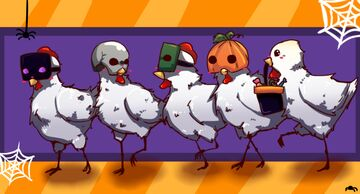 spooky chickens Minecraft Texture Pack