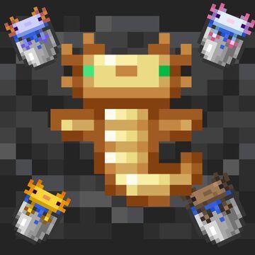 A-Lotl Axolotls v1.3 Minecraft Texture Pack