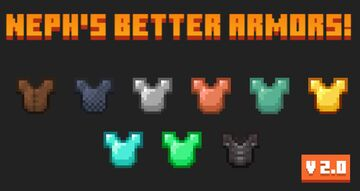 (Copper and Emerald Armor!) Neph's Better Armors! Minecraft Texture Pack