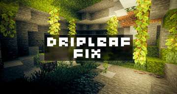 Dripleaf Fix Minecraft Texture Pack