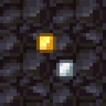 BEDROCK Coin Nuggets Minecraft Texture Pack