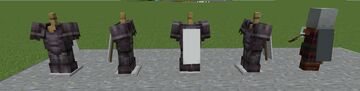 Worn Banners -> Capes Minecraft Texture Pack
