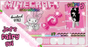 jed's fairy GUI ♥ (java 1.8 - 1.17) Minecraft Texture Pack