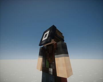 Squid Game Square 3D Mask Minecraft Texture Pack