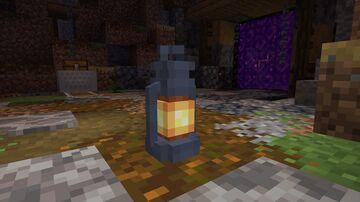 blizzard lantern V2 Minecraft Texture Pack