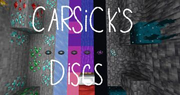 Carsick's Discs - Volume 2 Minecraft Texture Pack