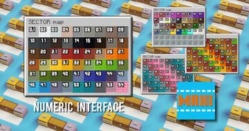Numeric Interface Pack [MAXI] Minecraft Texture Pack