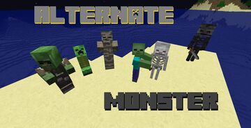 Alternate-Monster Minecraft Texture Pack