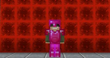Super Charged Redstone Armor From Rainbow Quest Minecraft Texture Pack